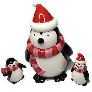 Target Penguin Cookie Jar & Salt Pepper Penguins